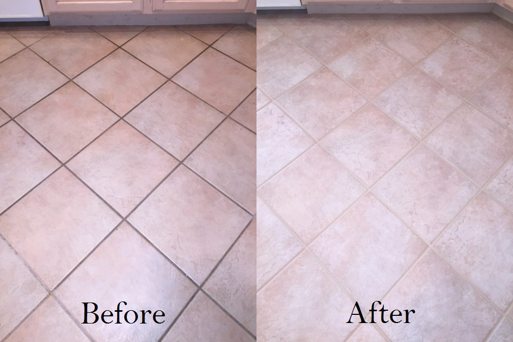 How to clean stone floors and grout gurus floor for How to clean unsealed grout